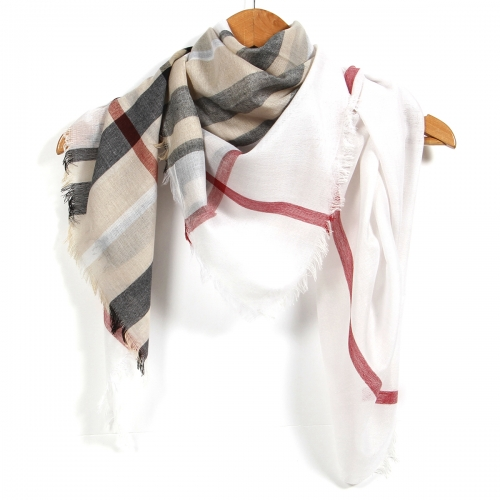 Wholesale BX00 Classic check square scarf BG