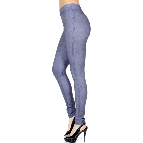 Wholesale A07 No pocket jeggings Denim Grey