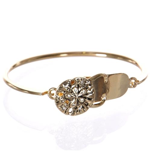 Wholesale WA00 Flower bracelet GD