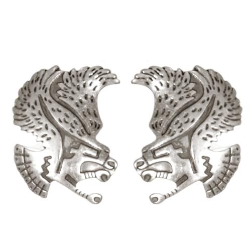 Wholesale L02B Tribal hawk clip earrings SV
