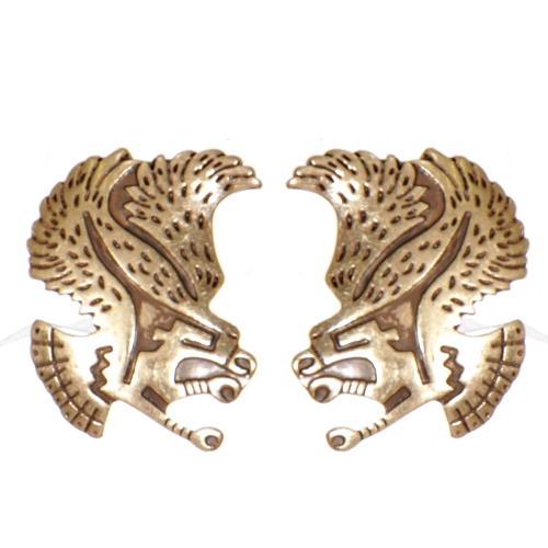 Wholesale L02B Tribal hawk clip earrings GB