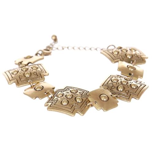 Wholesale L08E Tibal circles cross metal bracelet GB