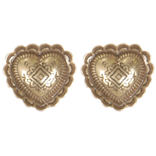 Wholesale L02B Diamonds & arrows carved heart clip earrings GB