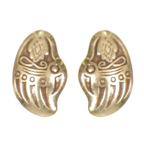 Wholesale L02E Indian hand clip earrings GB