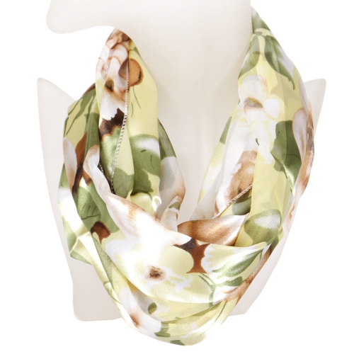 Wholesale K78 Floral garden infinity scarf BAN