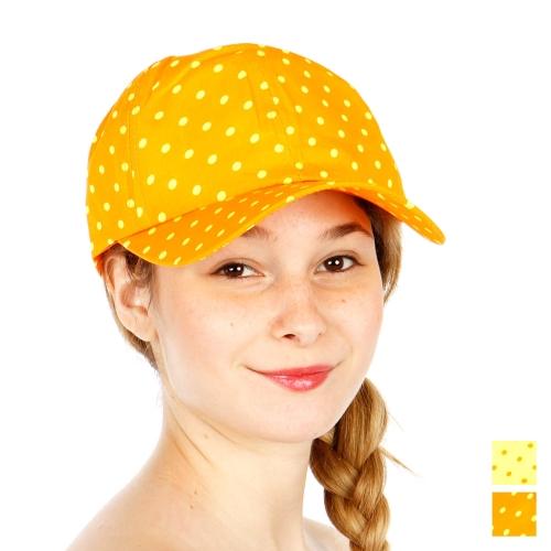 Wholesale R58B Polka Dot Snapback Hat ORG