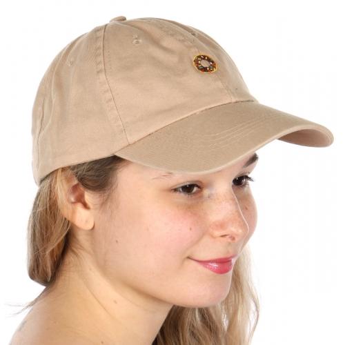 Wholesale V25B New Premium Washed Cotton Donut Hat Navy
