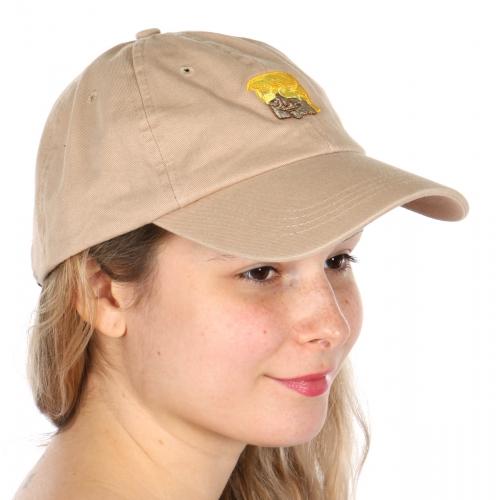 Wholesale V25B New Premium Washed Cotton Trump Hat Navy