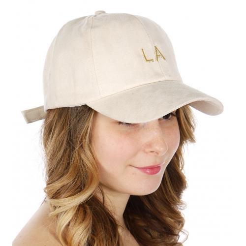Wholesale R14D LA Faux suede baseball cap BEG