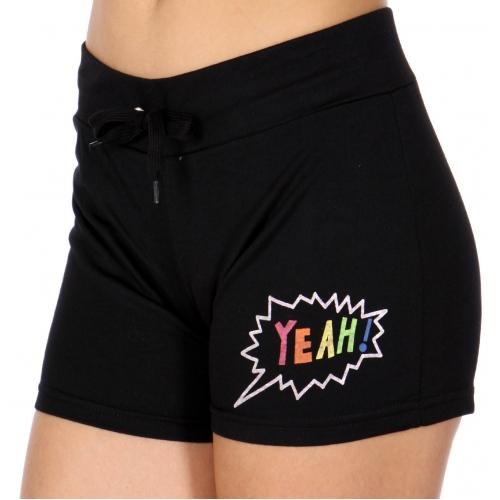 Wholesale O45A YEAH! active shorts Black
