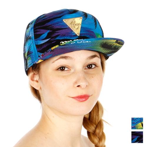 Wholesale R75E Topical Print Snapback Hat MLT