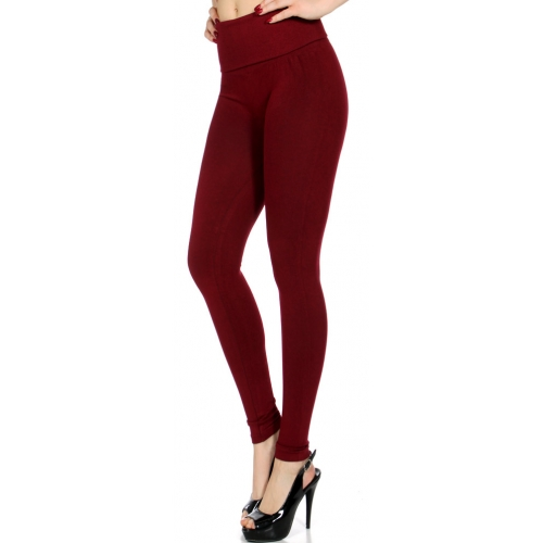 Wholesale E08 Empire waist compression leggings