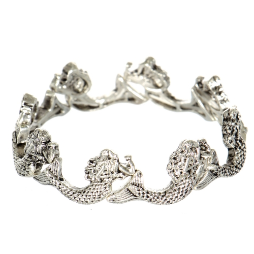 Wholesale WA00 Mermaid stretch bracelet SV