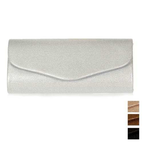 Wholesale P17B Envelope fold evening clutch bag