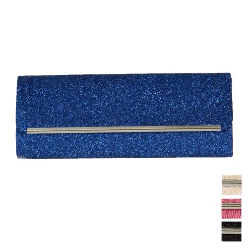 Wholesale P22B Shimmering long evening clutch bag