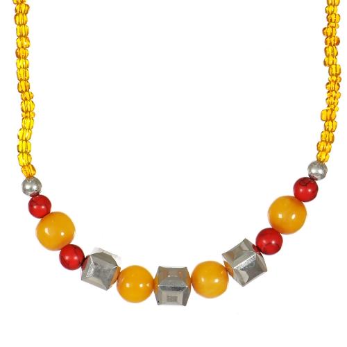 Wholesale WA00 Handmade amber beads necklace