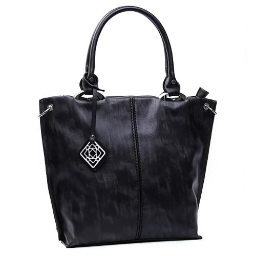 Wholesale S78A Center-seam tote Black