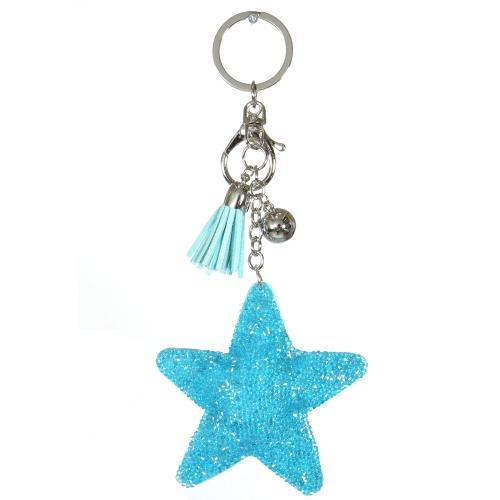 Wholesale WA00 Keychain Tassel and Star RTQ