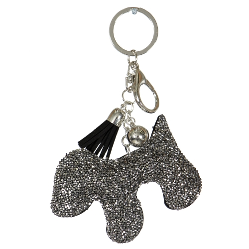 Wholesale WA00 Keychain Tassel and Dog RGY