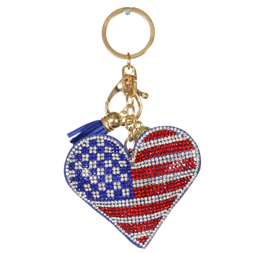 Wholesale WA00 Keychain Tassel and Flag G