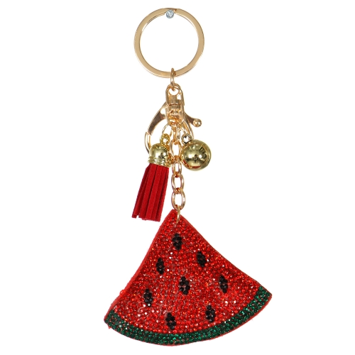 Wholesale WA00 Keychain Tassel and Watermelon GRD