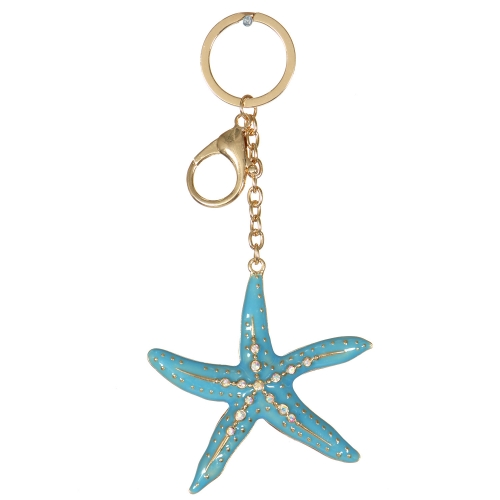 Wholesale WA00 Metal keychain Starfish G