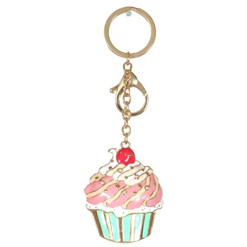Wholesale WA00 Metal keychain Cupcake G