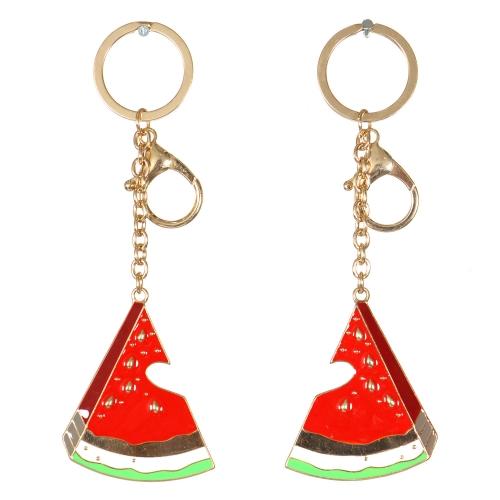 Wholesale WA00 Couple metal keychain Watermelon G