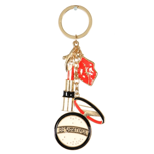 Wholesale WA00 Metal keychain Cosmetic G