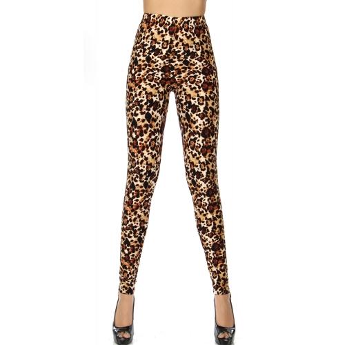 Wholesale T18A NEW MIX soft brushed leggings Cheetah