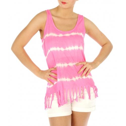 wholesale M06 Fringed sleeveless top LM fashionunic