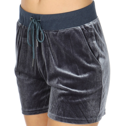 Wholesale S52B Drawstring solid shorts Midnight