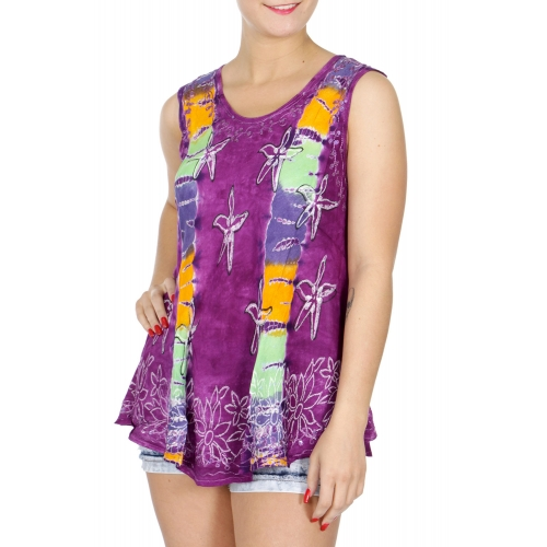 Wholesale I04D Star Fish Tie Dye Shirt NV
