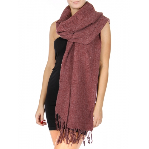 Wholesale U12D Oversized fringe shawl scarf