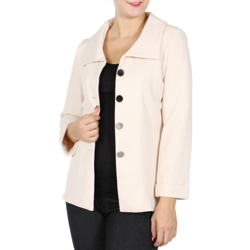 Wholesale U15A Solid blazer Black