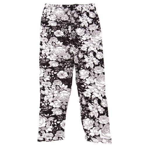 Wholesale B10B Girls print leggings FLOWER SKETCH