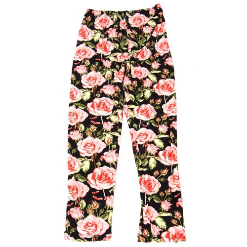 Wholesale B14C Girls print leggings ROSE BLOSSOM