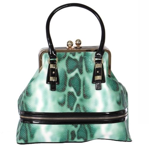 Wholesale S78A Kiss-lock closure handbag