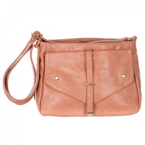 Wholesale R52C Faux leather shoulder bag