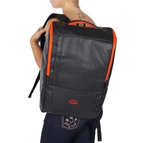 Wholesale U11A Laptop backpack Black/Orange