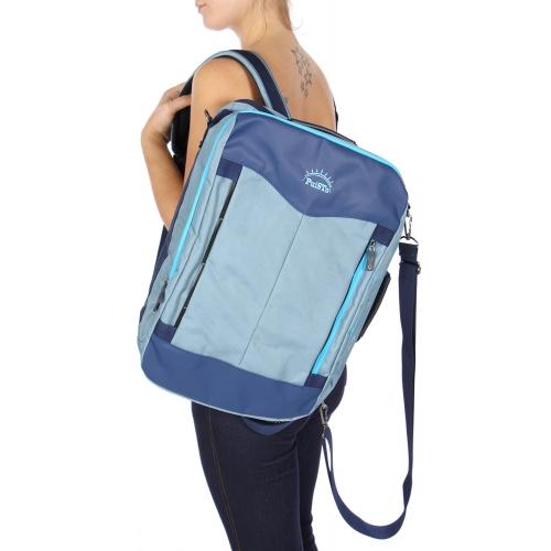 Wholesale U11A Laptop backpack Blue/Sky Blue