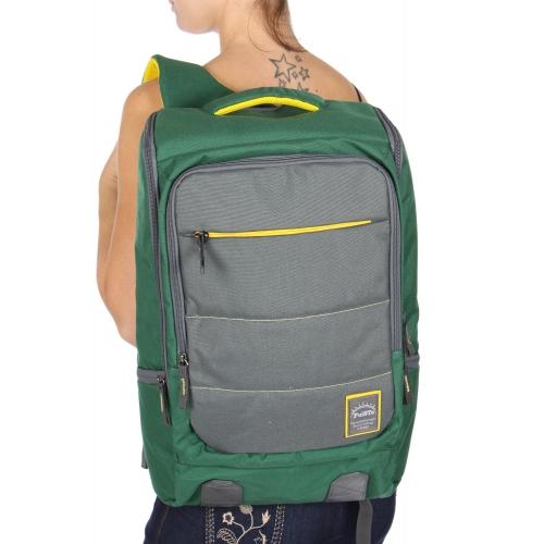 Wholesale U11B Laptop backpack Green/Gray