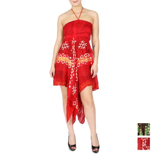 wholesale N12 Geometric handkerchief dress RD