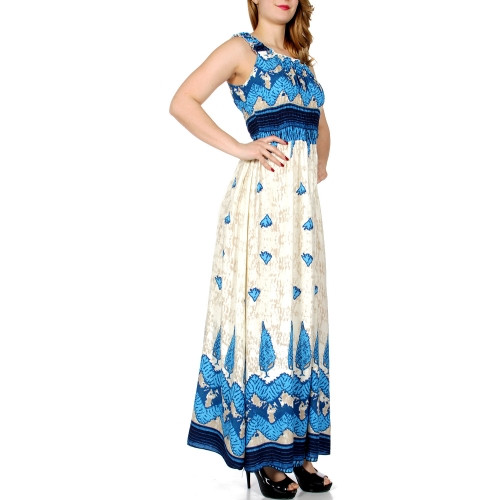 Wholesale K14D Abstract chevron print maxi dress NV