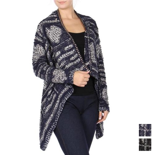 Wholesale U11D Heart wrap cardigan