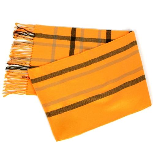 Wholesale O58B Plaid cashmere feel scarf Red