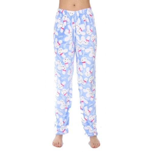 Wholesale U10B Pajama pants Rabbits Blue