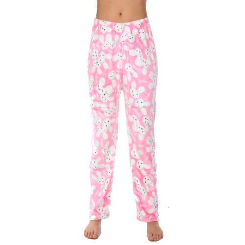 Wholesale U10B Pajama pants Rabbits Pink