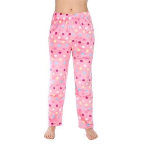 Wholesale U08 Pajama pants Dots Pink