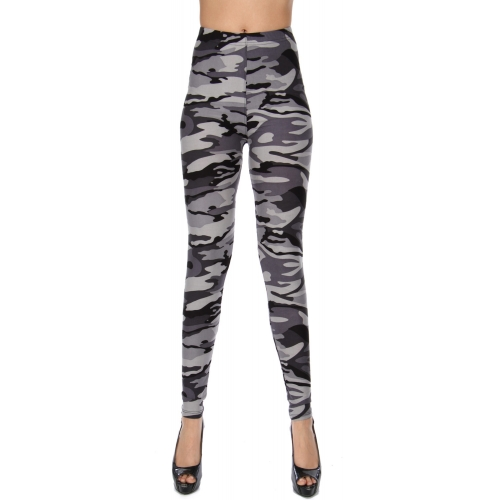 Wholesale Y04D NEW MIX Camouflage soft brush leggings